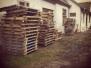 Priprema drvene građe za izgradnju Mini Bajk Parka